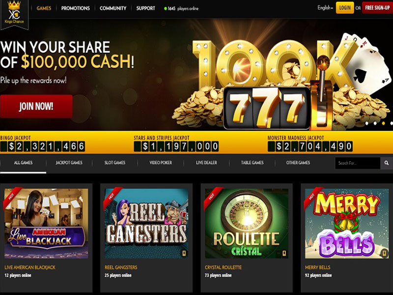 Casino preview image Kings Chance Casino