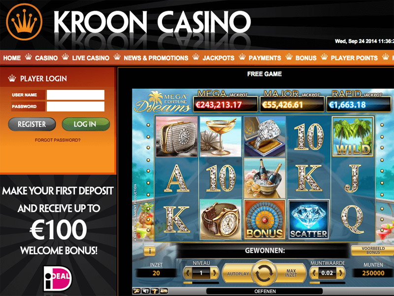 Casino preview image Kroon Casino