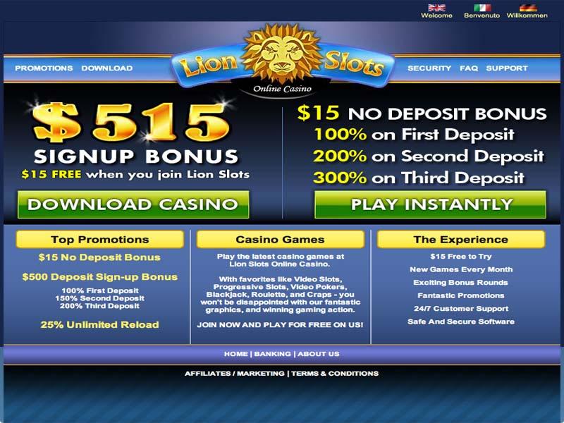 Casino preview image Lion Slots Casino