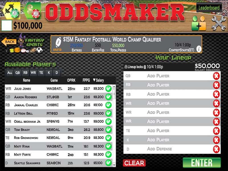 Casino preview image Odds Maker Casino