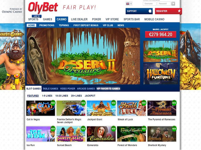Casino preview image OlyBet Casino