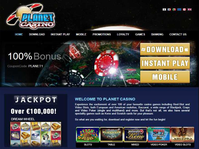Casino preview image Planet Casino