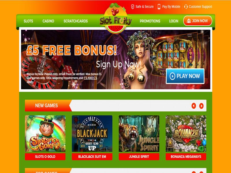 Casino preview image Slot Fruity Casino