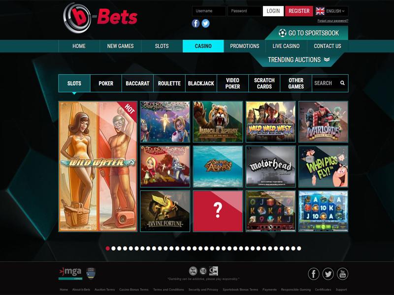 Casino preview image b-Bets Casino