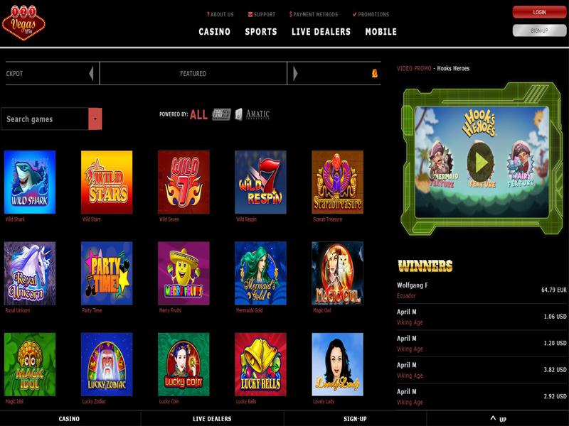 Casino preview image 123VegasWin