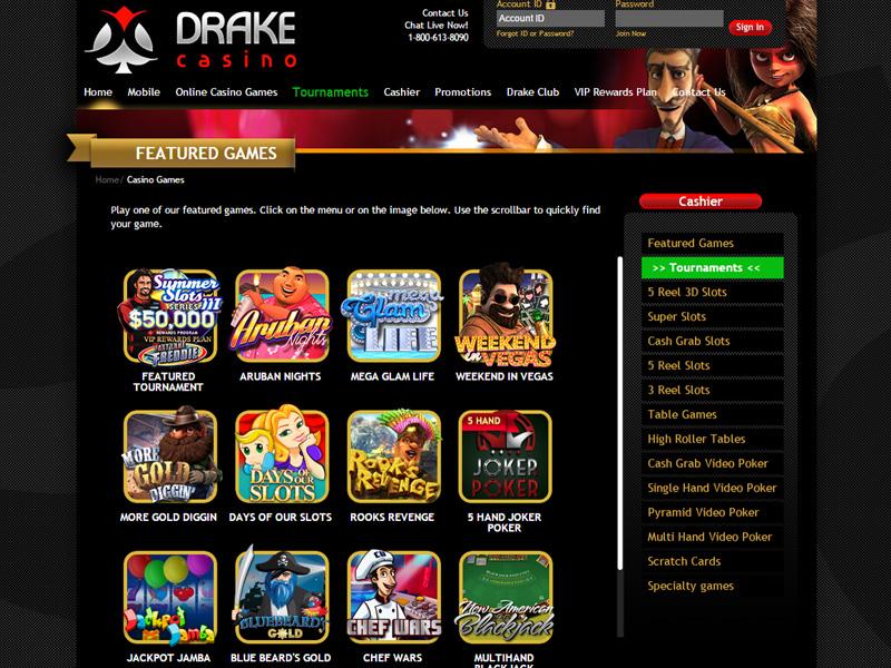 Casino preview image Drake Casino