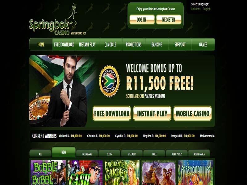 Casino preview image Springbok Casino