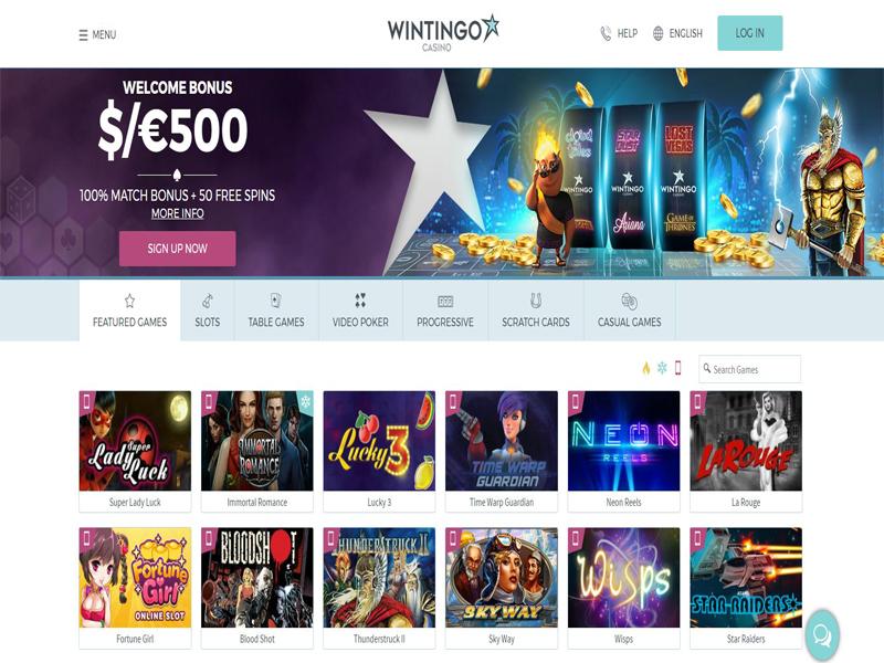 Casino preview image WinTingo Casino