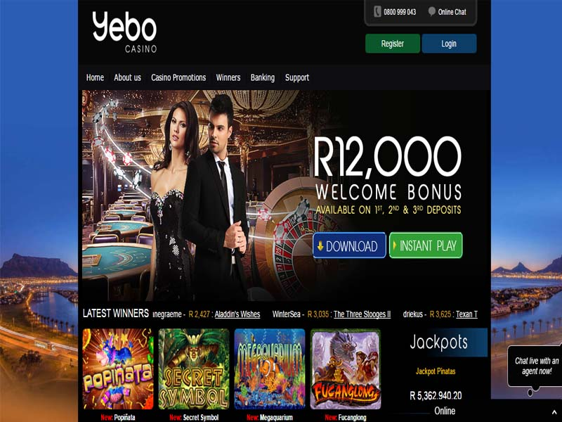 Casino preview image Yebo Casino