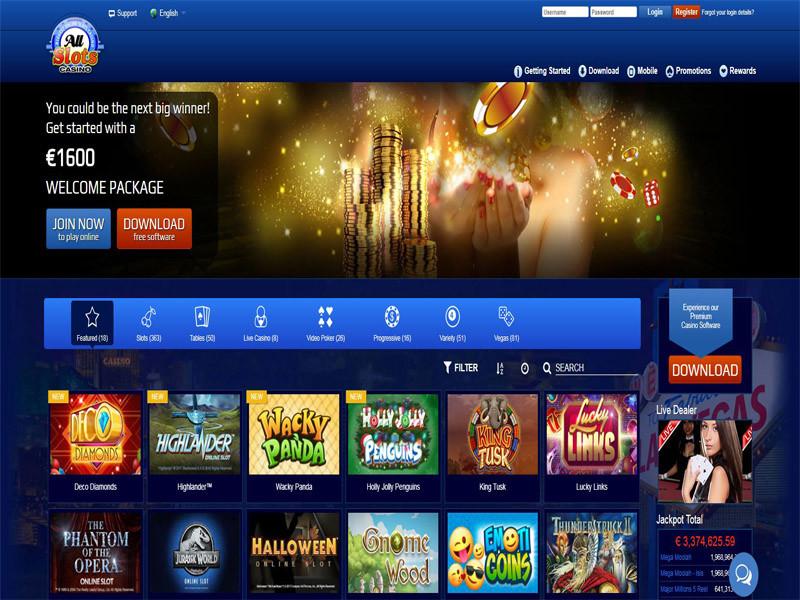 Casino preview image All Slots Casino