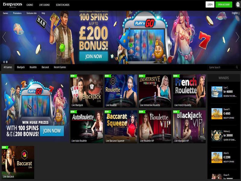 Casino preview image Barbados Casino