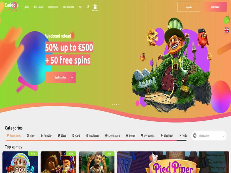 Casino preview image Cadoola Casino
