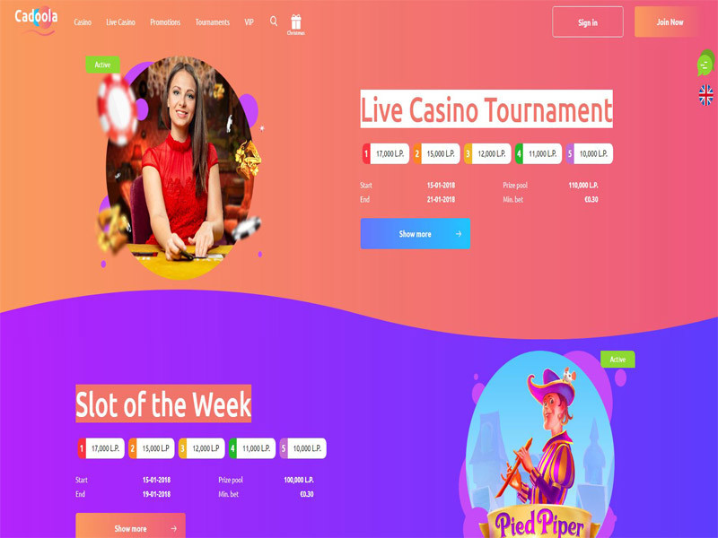 Cadoola Casino Free Spins No Deposit Review