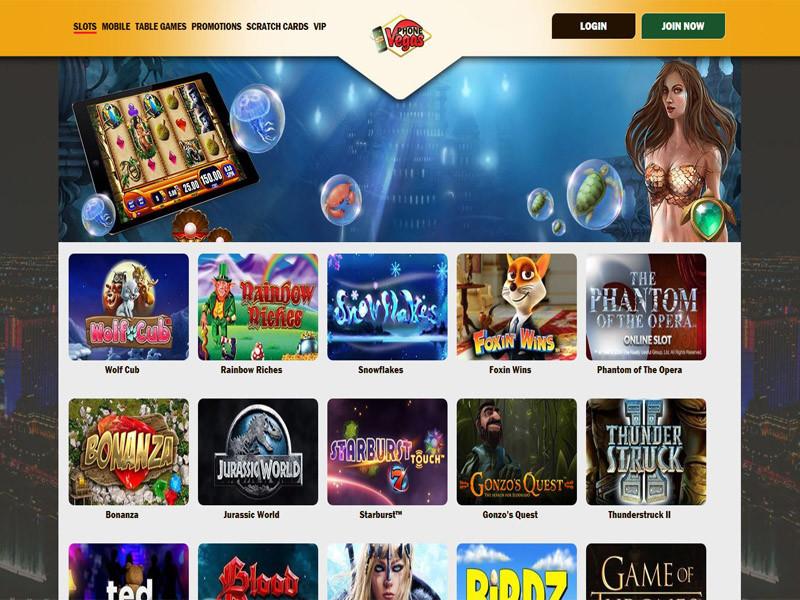 Casino preview image Phone Vegas Casino