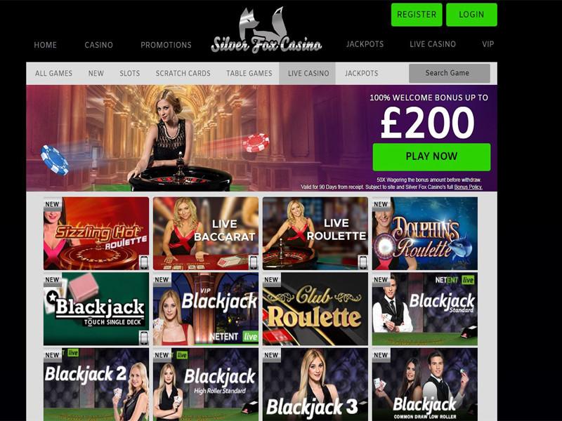 Casino preview image Silver Fox Casino