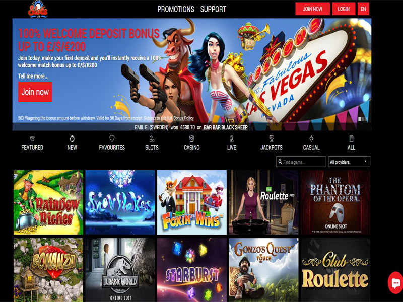 Casino preview image Slots LTD