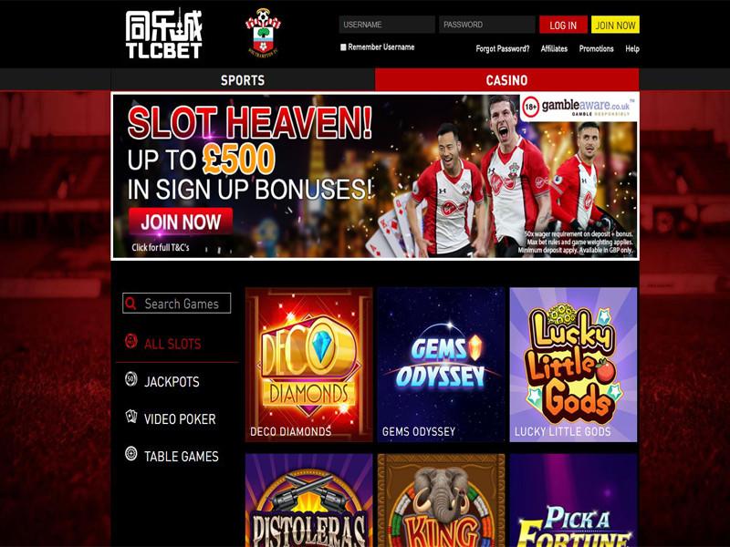 Casino preview image TLCBET Casino