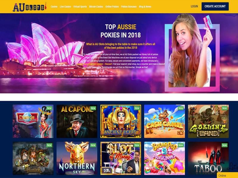 Casino preview image AU Slots