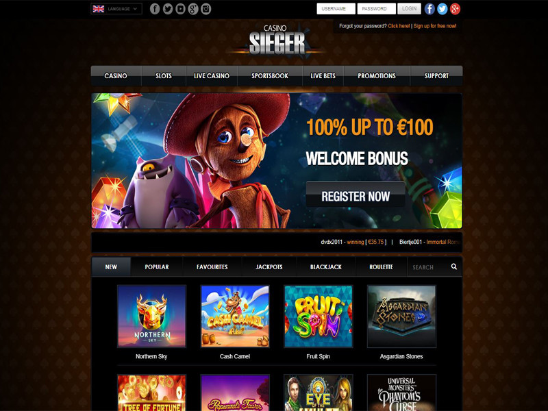 Casino preview image Casino Sieger