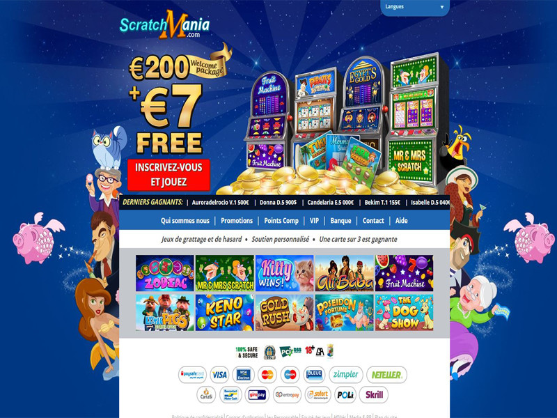 Casino preview image ScratchMania Casino