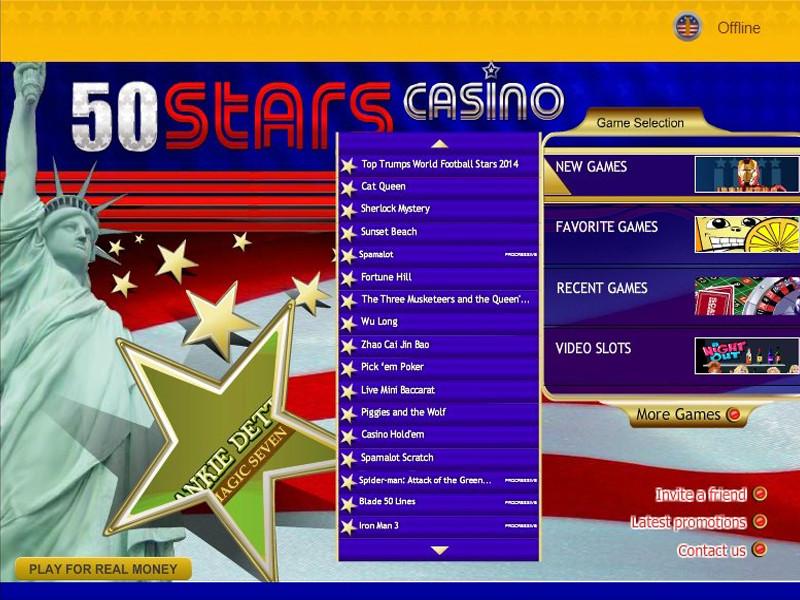 Casino preview image 50Stars Casino