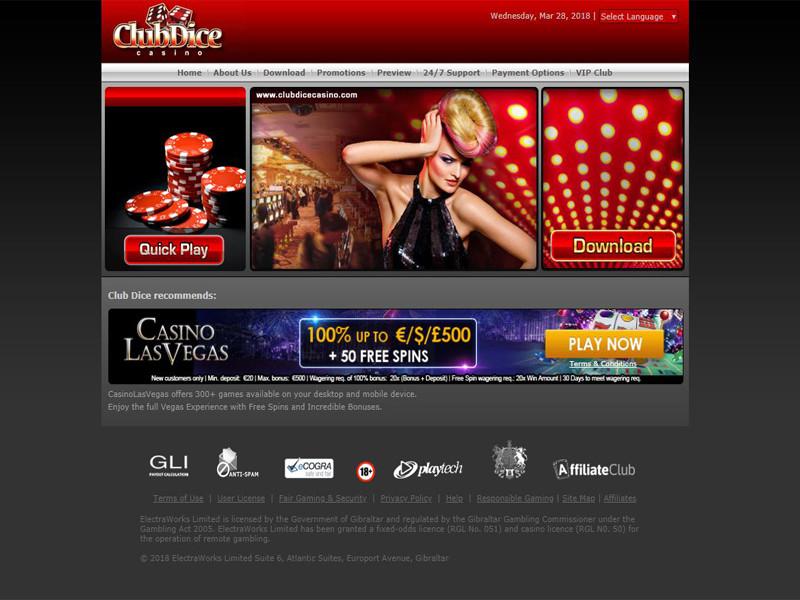 Casino preview image Club Dice Casino