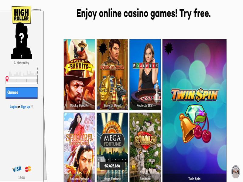 Casino preview image Highroller Casino