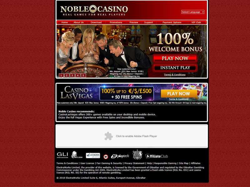 Casino preview image Noble Casino