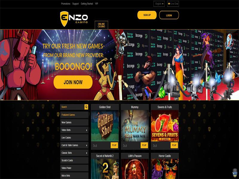 Casino preview image Enzo Casino