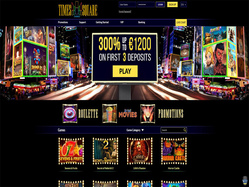 Casino preview image Times Square Casino