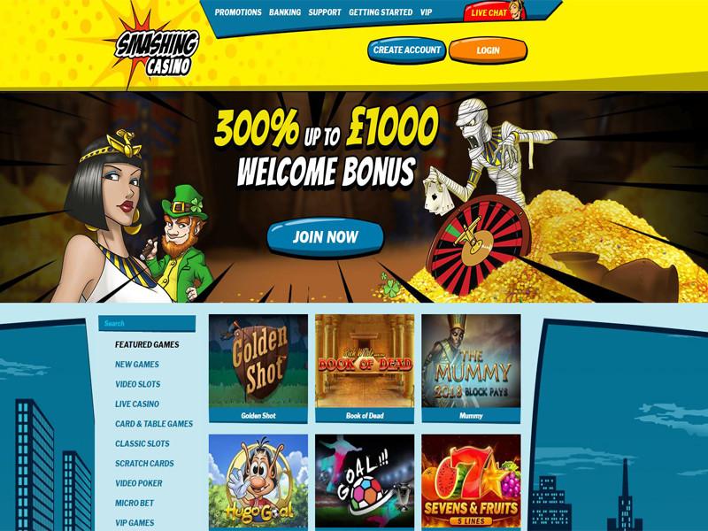 Casino preview image Smashing Casino