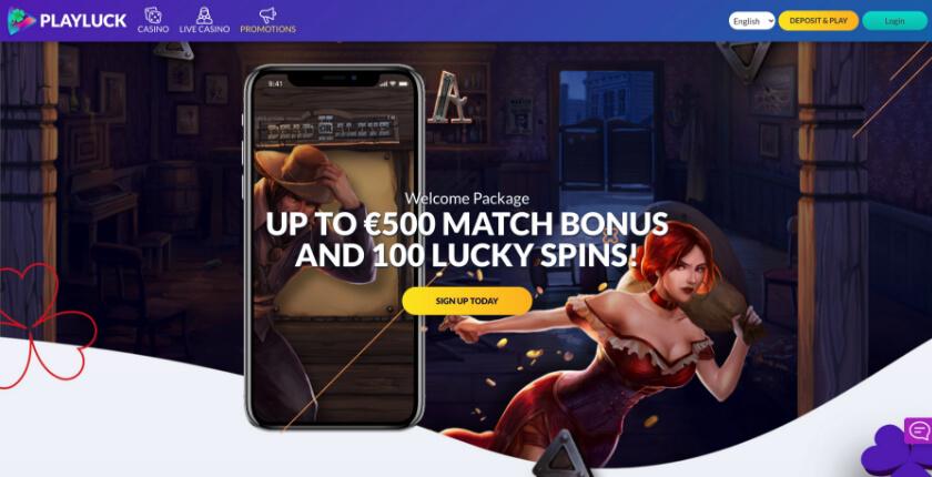 playluck casino free spins bonus codes